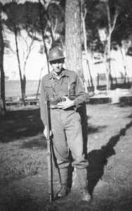 Jean-Pierre ALBENTOSA au Service Militaire