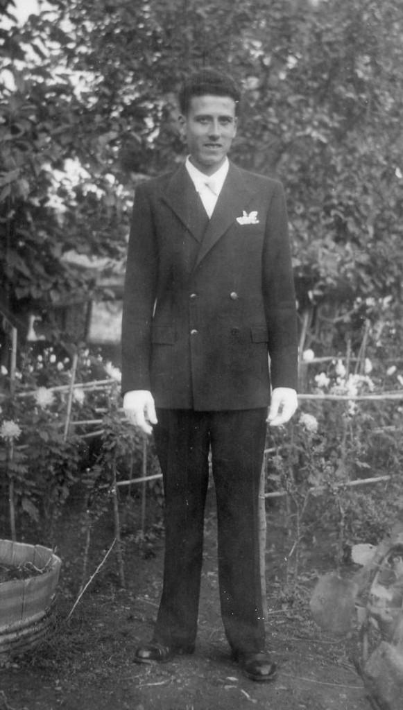 Jean-Pierre ALBENTOSA le jour de son mariage