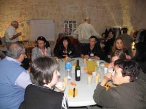 Familles ROUSO - MARIN - YACOUT ---- Josie ROUSO Albert ROUSO Jean-Louis MARIN Carole, compagne de Jean-Louis Mathieu MARIN Aline, compagne de Mathieu Florence x Zouzou