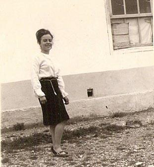"Nathalie YACOUT ""Zouzou"" 1962 Camp de RIVESALTES"