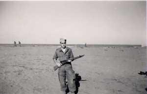 Yvan RUSO au service militaire (Octobre 1955)