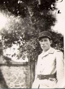Jean RUSO en tenue de GARDE CHAMPETRE