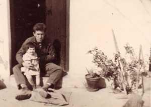 Hubert DIERAS et sa fille  Marie-Paule