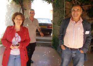 Rania SALMI et  son mari Abdelhafid  ---- Hanoteau