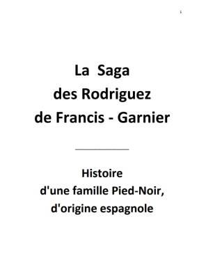 Photo-titre pour cet album: Mémoires de Vincent RODRIGUEZ