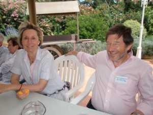 Chistiane SALA et son mari Patrick SERMESANT