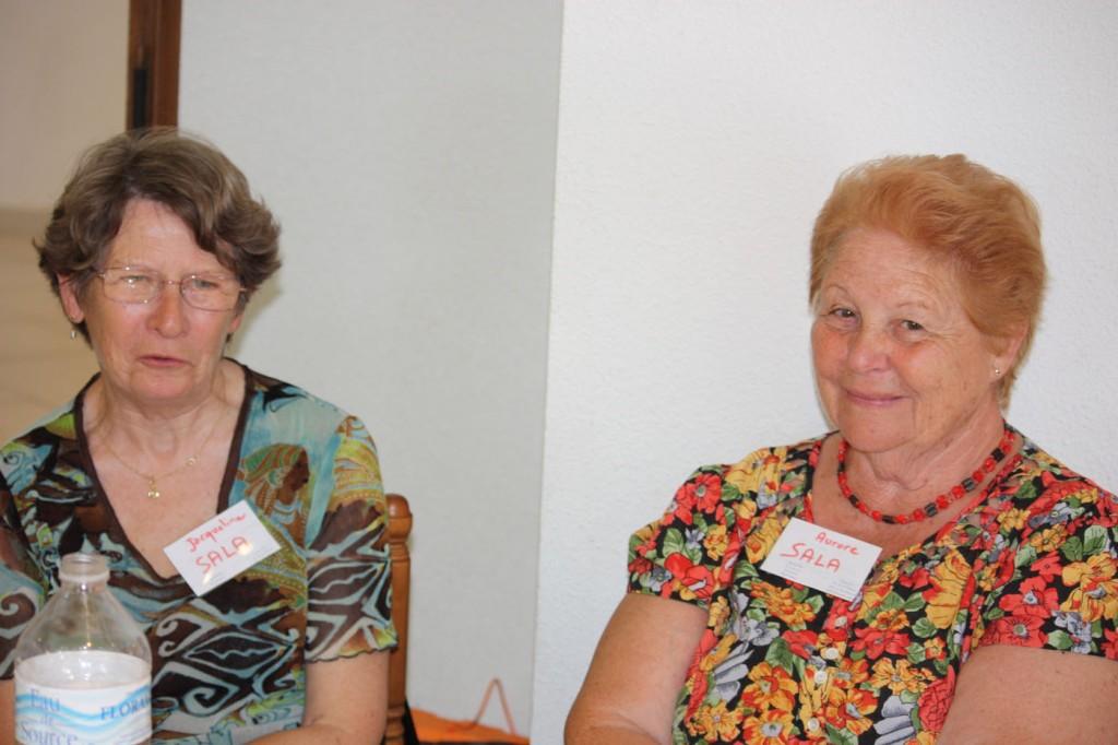 LA VIERE 2009 ---- Jacqueline et Aurore SALA