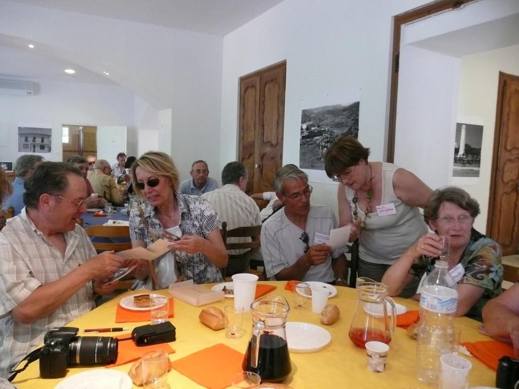 LA VIERE 2009 ---- Claude SALA Christiane SALA Jean-Pierre TUESTA Danielle DELBANO Jacqueline SALA