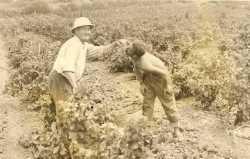 Pierre SEBASTIEN et son petit neveu  Jakie TORREGROSSA