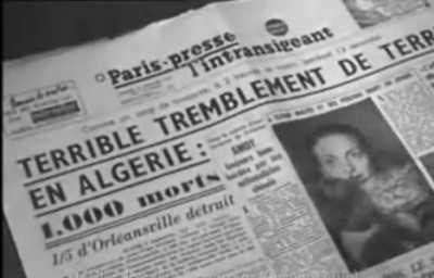 ORLEANSVILLE 9 Septembre 1954 1.000 morts