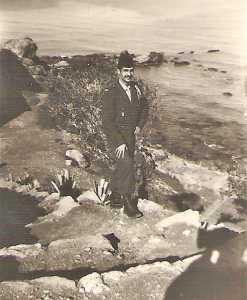 Guy PONS au bord de l'eau