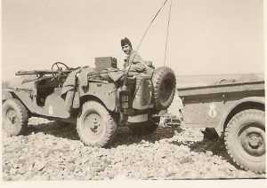 Guy PONS en jeep