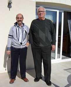 Mars 2009  Guy PONS et Robert PAVOT