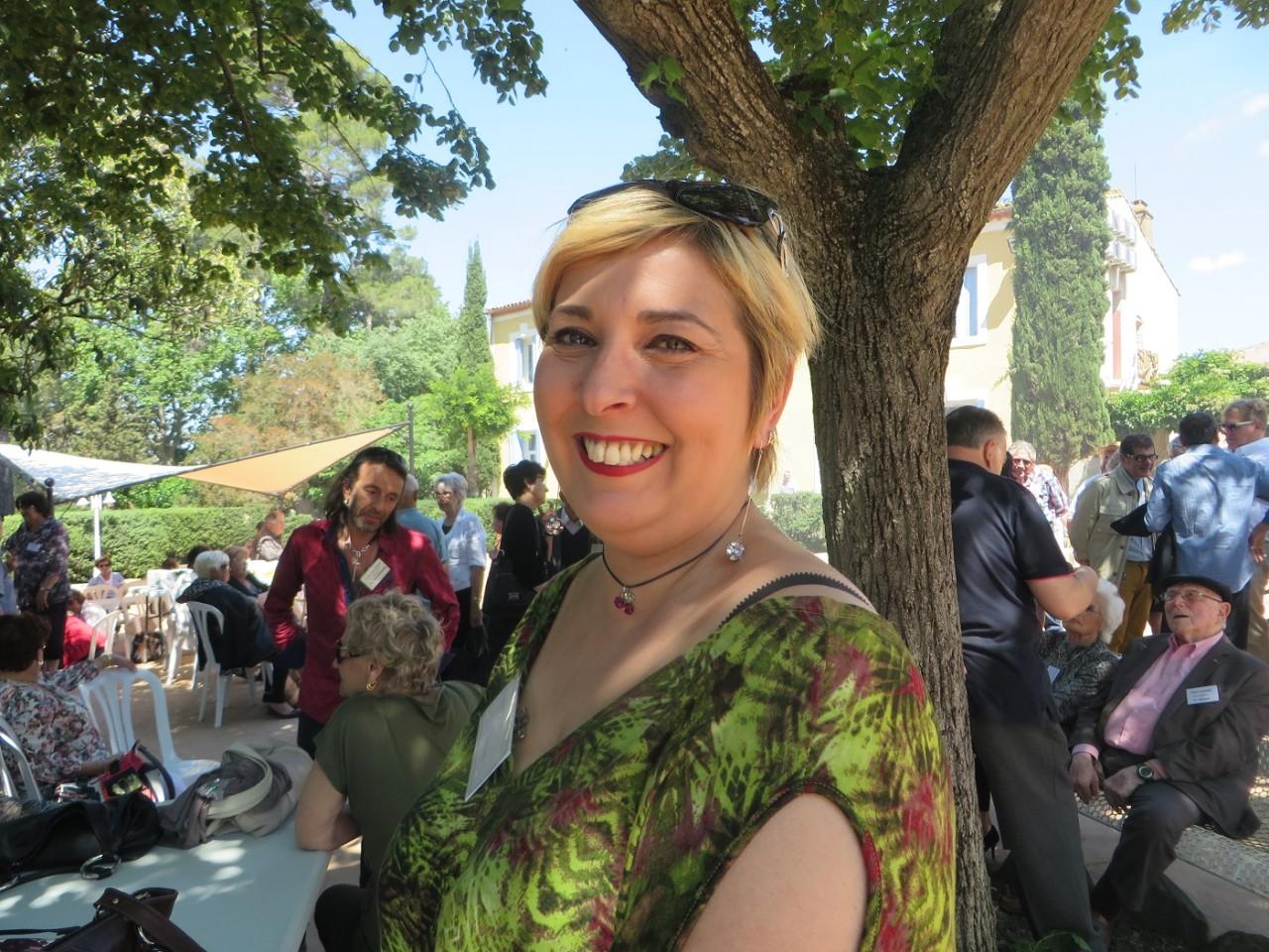 Aline VENTURA Compagne de Mathieu MARIN