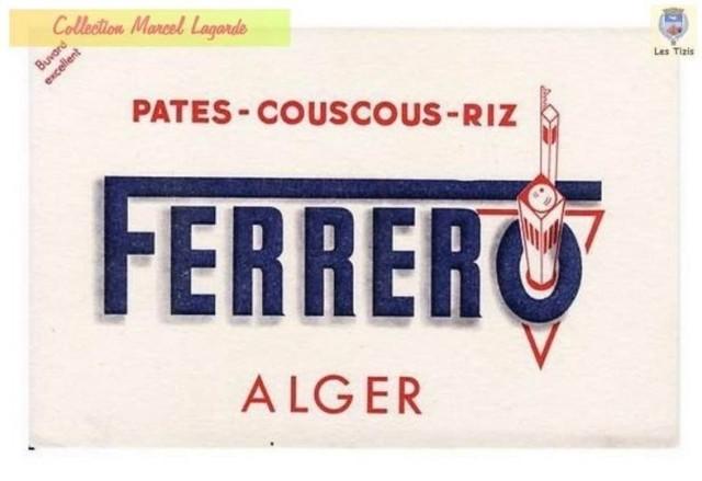 FERRERO Pates - Couscous - Riz