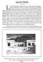 Photo-titre pour cet album: Ténès de 1830 à 1962
