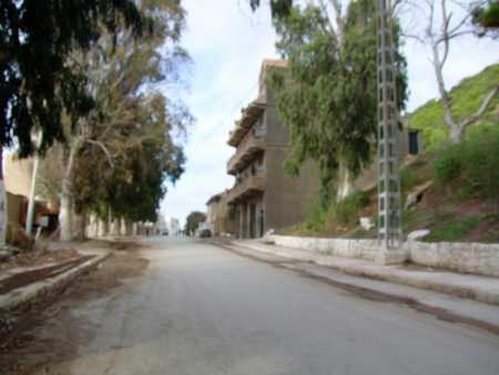 Villa d'Omar HADDAD en allant vers le port
