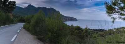La route littorale