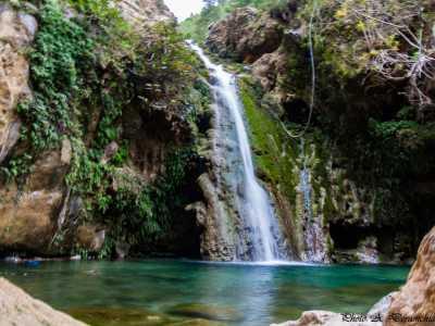 La cascade de Taragnia