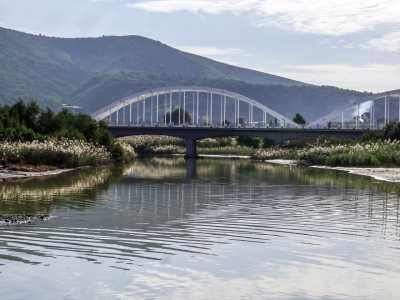 Le nouveau pont sur l'oued Alala