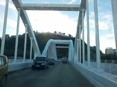 Le nouveau pont sur l'oued Allala