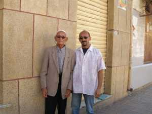 Mohamed Tidda et son fils Merouane