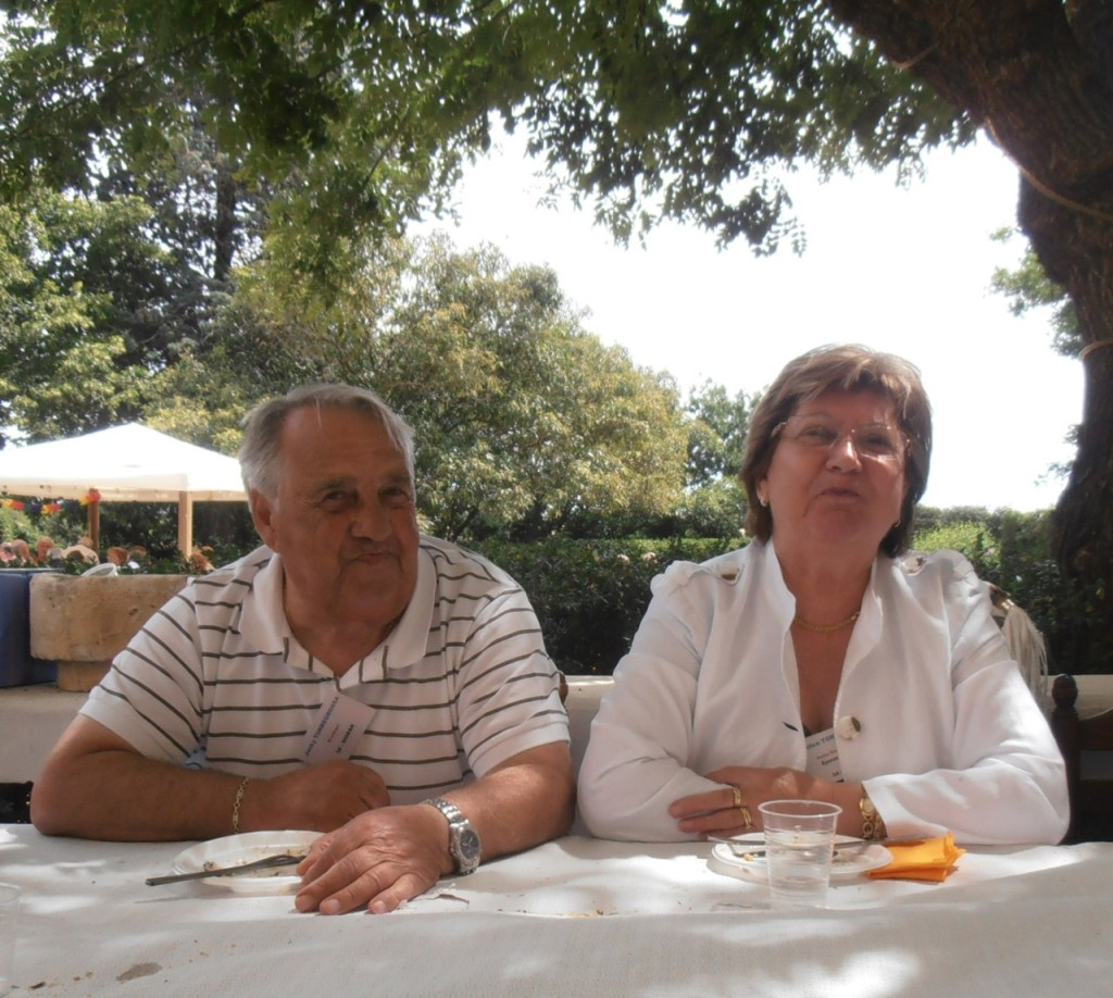 LA VIERE 2011 ---- Jacky TORREGROSSA Alice TORREGROSSA  il manque le saxo jacky !
