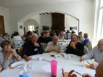 LA VIERE 2013 ---- Table FROMENTIN  Yvette MICHEL Roger MICHEL Georges KIENLEN Jacques TORRES Paul LACAZE