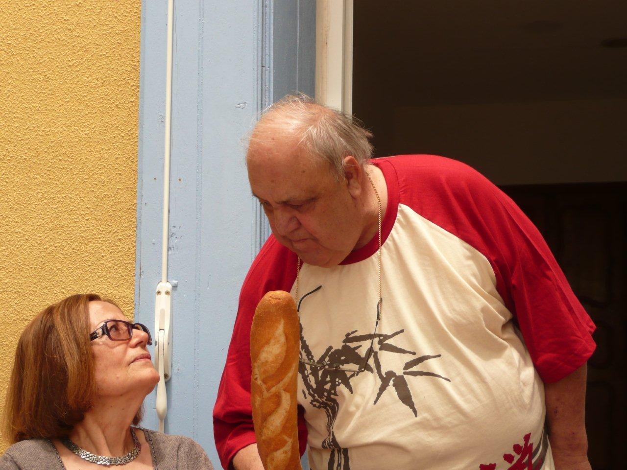 Danielle DELAIGLESIA Guy ROSET le boulanger