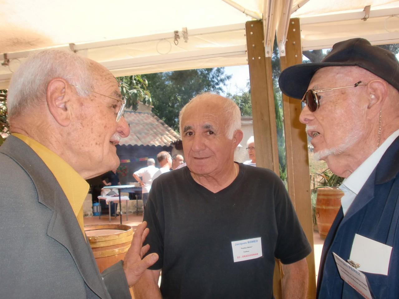 Pierre PARENTI Jacques ROMEO Georges PEREZ