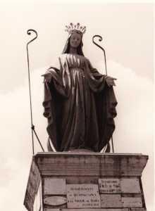 La Vierge en 1970