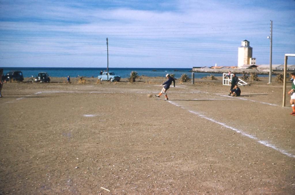 Le Stade du Port 18 Janvier 1959