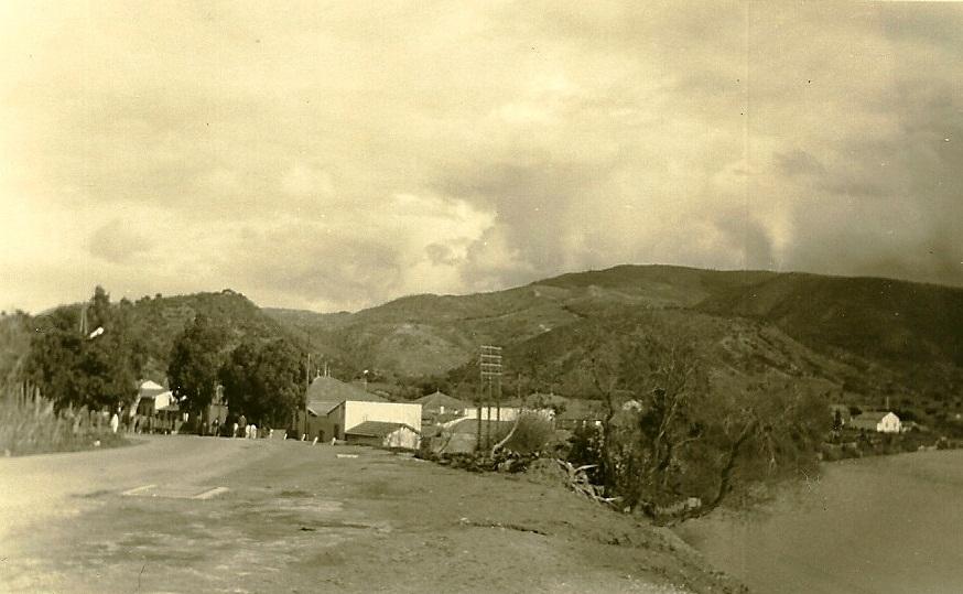 la route d'Alger et l'Oued Allalah