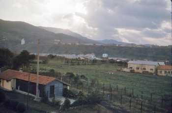Vue sur TENES depuis la Villa Olive