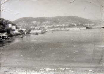 TENES vu depuis la plage de la Villa Paulette