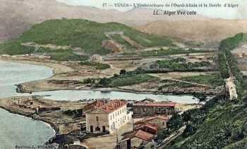 TENES L'Embouchure de l'Oued Allala et la route d'Alger