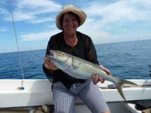 Angela WERY et le Vacoas de 4 kgs Ile Maurice - Mars 2013