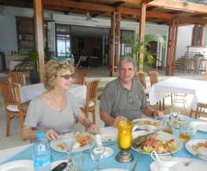 Nicole et Jean-Marie WERY au restaurant Sealover de PEREYBERE