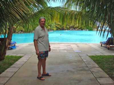 Jean Marie WERY Mars 2009 hotel Dinarobin Ile Maurice