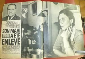 Photo-titre pour cet album: 5 Août 1962  L'enlèvement d'Henri WOLF