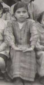 XICLUNA Yamina en 1952