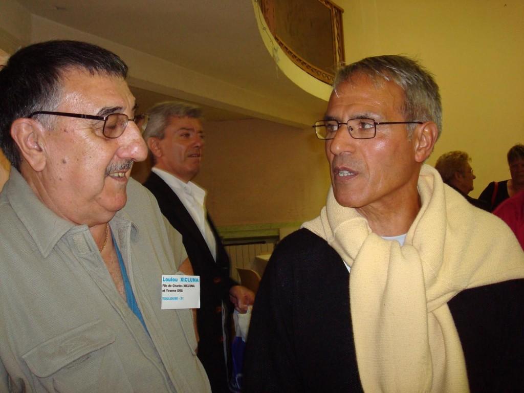 Loulou XICLUNA Jean Pierre TUESTA