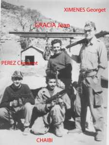 GRACIA Jean XIMENES Georget PEREZ Crescent CHAIBI