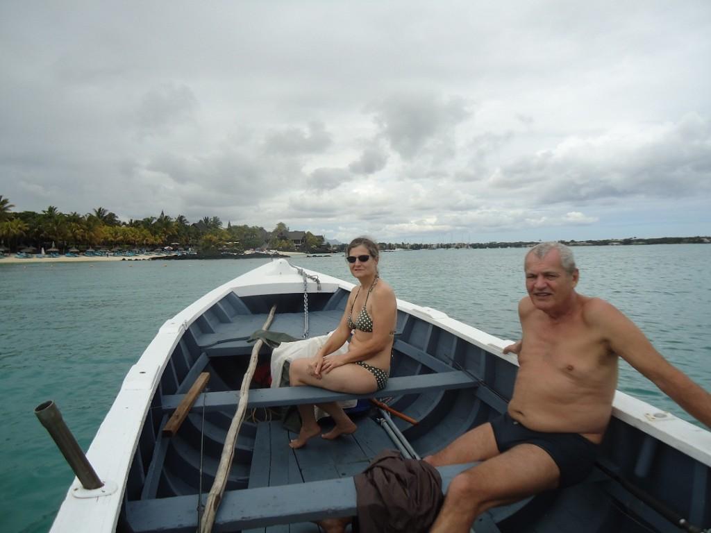 ILE MAURICE - 2011 Grand Bay visite du Lagon