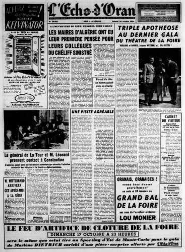 14 Octobre 1954