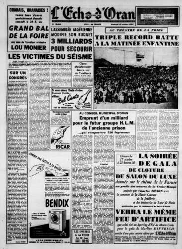 15 octobre 1954
