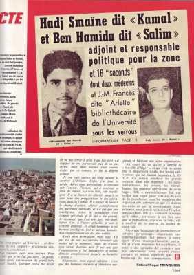 Fin de la Bataille d'Alger