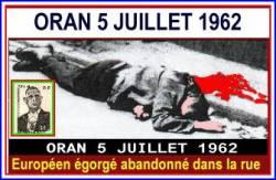 Photo-titre pour cet album: ORAN - 5 JUILLET 1962