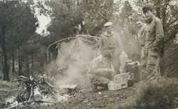 1957 - Bivouac au col des 2 Bassins