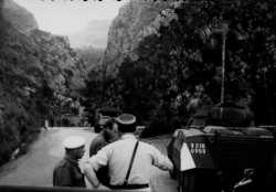 Controle routier dans les gorges